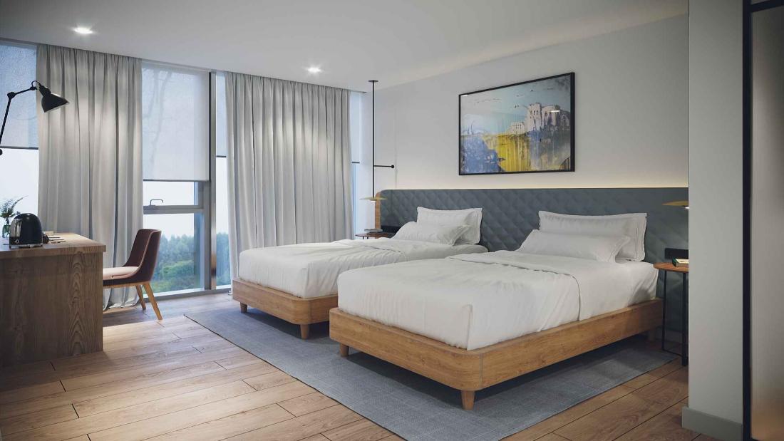 სასტუმრო Hilton Garden Inn